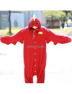 [PJA67] Animal Pajamas - Red Chicken