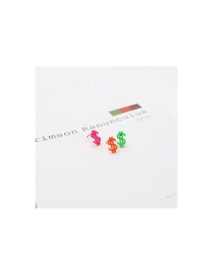[TT42] L.J*style TeenTop Vivid Dollar Earring