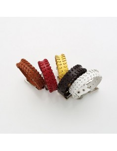[VX01] Vixx Leather Twist bracelet