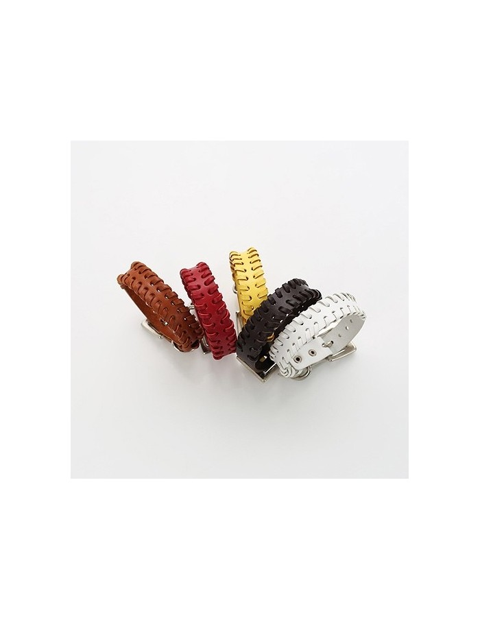 [VX01] Vixx Leather Twist bracelet