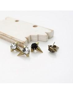 [VX04] Vixx Cubic Stud Earring