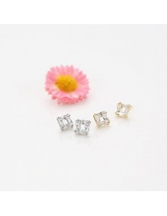 [EX118] Exo Minimal Square Earring