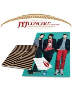 JYJ Tokyo Dom Concert Goods - Mini Poster + Wrapping Paper Book + Key Holder SET