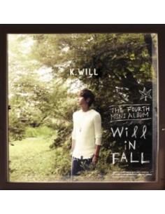 K. Will 4th Mini Album - Will in FALL CD