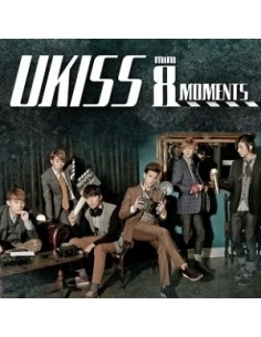 U-Kiss 8th Mini Album - MOMENTS CD + postcard style photobook (30p)