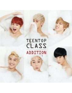 Teen Top 4th Mini Repackage Album - TEEN TOP CLASS ADDITION CD + Poster