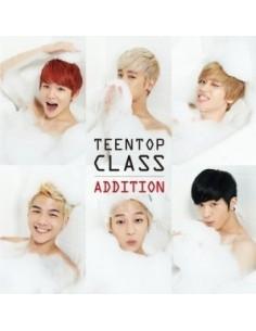 Teen Top 4th Mini Repackage Album - TEEN TOP CLASS ADDITION CD + Poster