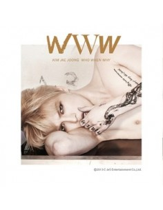 KIM JAE JOONG 1st Album Vol 1 - WWW : WHO, WHEN, WHY CD + Poster + Mini Calendar Photocard