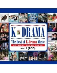The Best of K-Drama Music O.S.T vol. 1 - 2CD