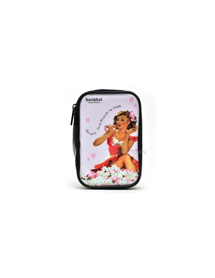 [Baviphat] Baviphat White LillyBag Pouch (110x170x50)