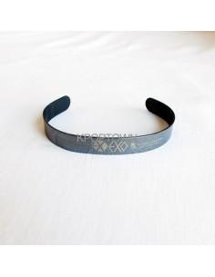 [EX102] EXO EXO-M Black Titanium Steel Bracelet Ver.2