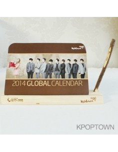 KYO CHON 2014 Global Calendar - Super Junior & Ailee