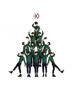 EXO - MIRACLES IN DECEMBER - KOREAN VER CD + Poster + Mini Calendar Card