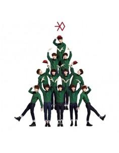 EXO - MIRACLES IN DECEMBER - KOREAN VER CD + Poster + Mini Calendar Card