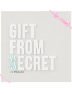 Secret 3rd single - Gift From Secret CD + Poster