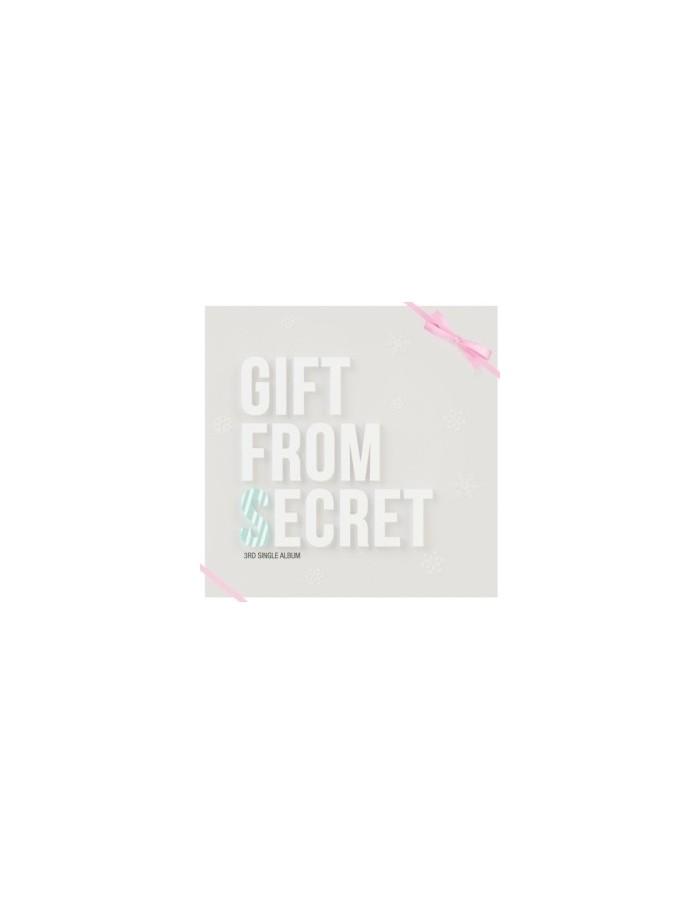 Secret 3rd single - Gift From Secret CD + Poster