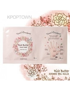 [ETUDE HOUSE] Hand Bouquet Rich Butter Hand Mask  16g