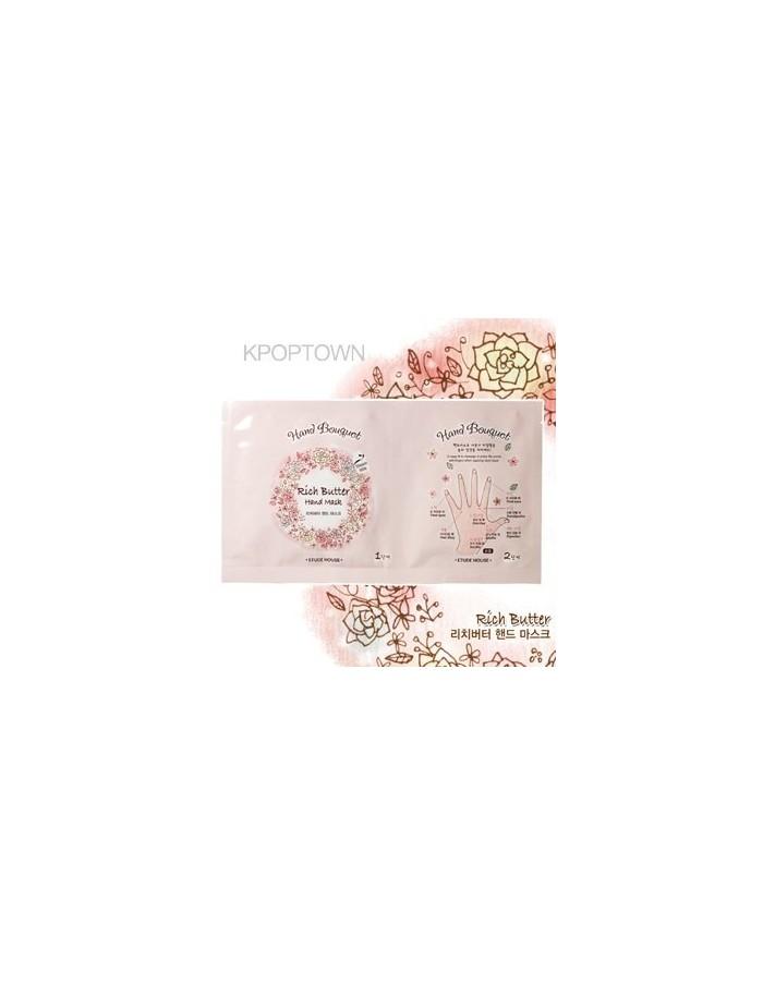 [ETUDE HOUSE] Hand Bouquet Rich Butter Hand Mask  16g