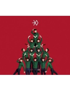 EXO - 十二月的奇迹 MIRACLES IN DECEMBER -CHINESE VER CD + Poster + Mini Calendar Card