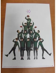 EXO - MIRACLES IN DECEMBER (Korean Ver) Official Poster
