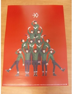 EXO - MIRACLES IN DECEMBER (Chinese Ver) Official Poster