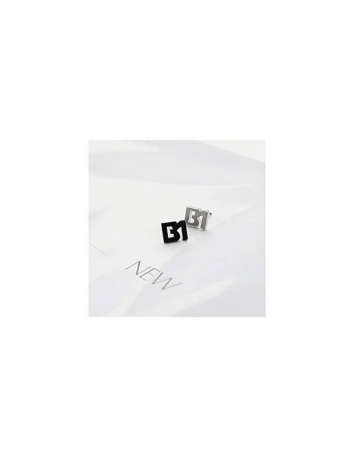 [BA43] B1A4 B1 Initial Earring