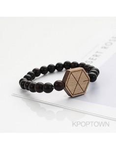 [EX143] EXO Wood Beads Bracelet