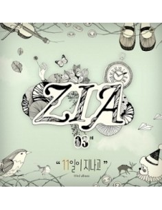 ZIA  3rd Album VOL.3 CD - 11 DAYS HAVE PASSED