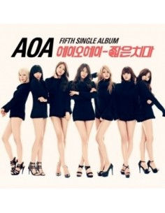 AOA 5th Single Album - Mini Skirt CD + Poster