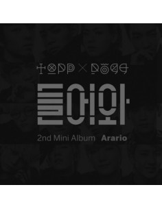 TOPPDOGG 2nd Mini Album - ARARIO TOPPDOGG CD