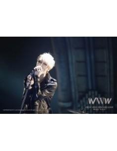 KIM JAE JOONG 1st Album Repackage WWW : ERASE MAKEUP - CD + DVD+ Poster