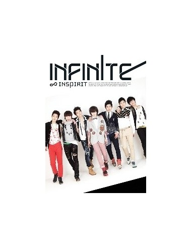 INFINITE Single ALBUM Insprit Evolution CD + Poster