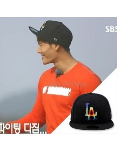 [NEW ERA] 5950 TIE DYE MLB LOSDOD BLACK _ SBS RUNNING MAN JONGGUK Style