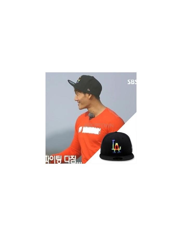 [NEW ERA] 5950 TIE DYE MLB LOSDOD BLACK _ SBS RUNNING MAN JONGGUK Style