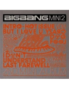 BIGBANG 2nd Mini Album HOT ISSUE CD
