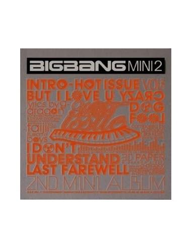 BIGBANG 2nd Mini Album HOT ISSUE CD