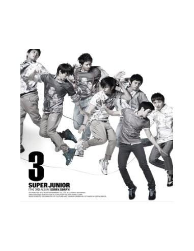 Super Junior 3rd Album Sorry Sorry Version C CD