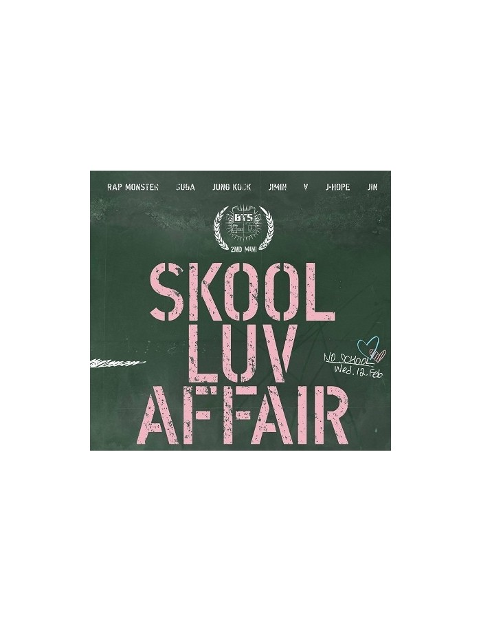 방탄소년단 BTS 2nd Mini Album - Skool Luv Affair CD + Booklet + Photocards