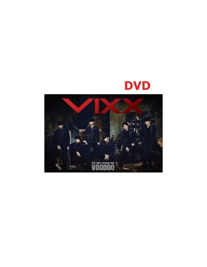 VIXX the first special DVD : Voodoo - 2DVD + Photobook + Postcards
