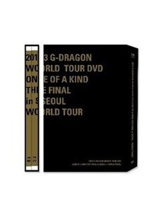 2013 G-DRAGON World Tour DVD - ONE OF A KIND THE FINAL in SEOUL + WORLD TOUR