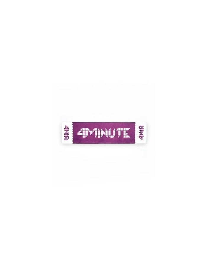 [ CUBE Official Goods] 4MINUTE Slogan Ver. 2