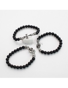[BE113] Kikwang Crome Beads Bracelet ( 3 Kinds )