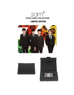 [ JYP Official Goods] 2AM Star Card Collection Limited Edition