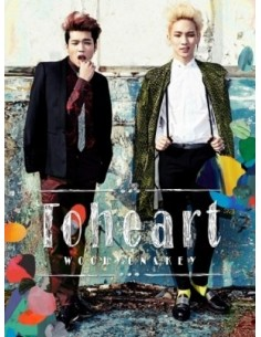 To Heart - Woohyun & Key Unit First Mini Album CD + Poster