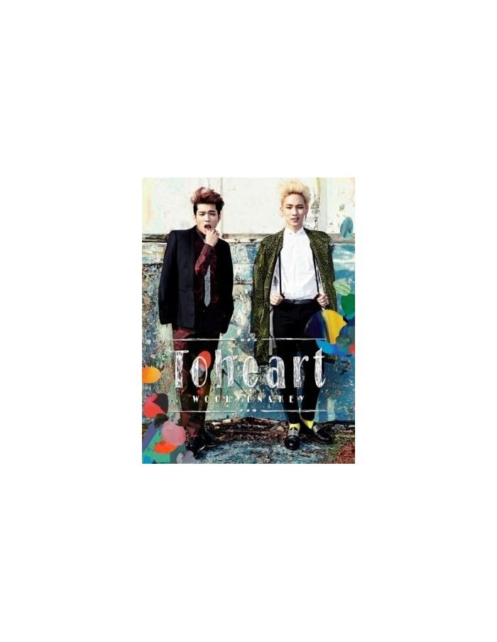 To Heart - Woohyun & Key Unit First Mini Album CD + Poster