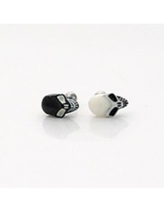[TT49] Mini Long Skull Earring