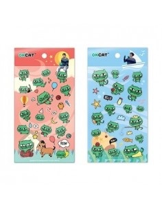 [2PM TAEC YEON - OKCATMALL] OKCAT Sticker Set