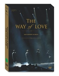 2AM The Way Of Love : Concert in Seoul 3DVD+ Phtobook (50p)