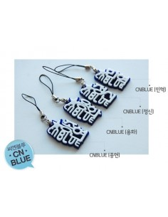 Embossed Carving Mobile strap of CNBLUE Members