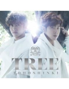 TVXQ TOHOSHINKI - TREE (JAPAN ORIGINAL ALBUM) CD + DVD A Version
